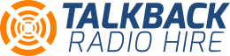 TalkBack Radio Hire Logo