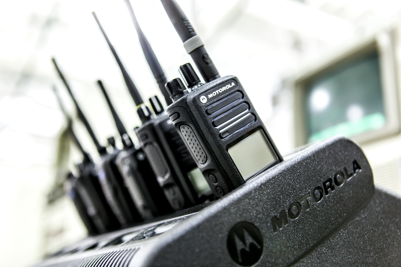 Multi Unit charger with radios